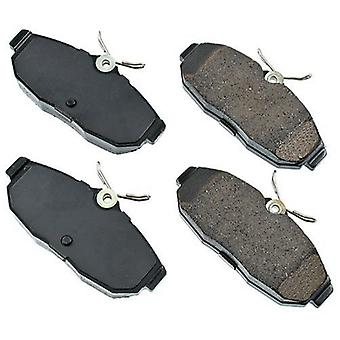 Akebono ACT1082 ProACT Ultra-Premium Ceramic Rear Brake Pad Set For 2005-2010 Ford Mustang