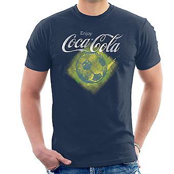 Coca Cola Diamond Football Men's T-Shirt