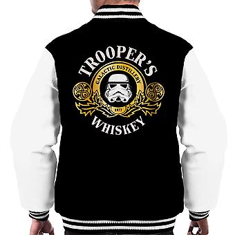 Originele Stormtrooper Galactische Single Malt Whiskey mannen Varsity Jacket