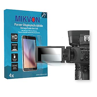 Sony HXR-NX5R Screen Protector - Mikvon Armor Screen Protector (Retail Package with accessories)