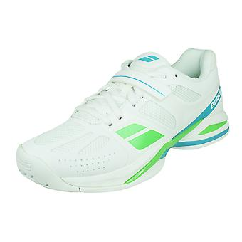Babolat Propulse BPM All Court Womens Tennis Trainers / Shoes - White