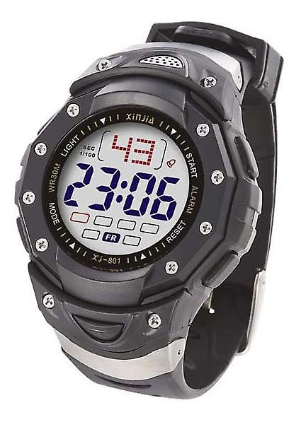 Waooh - Watch XINJIA LCD XJ-801 Black