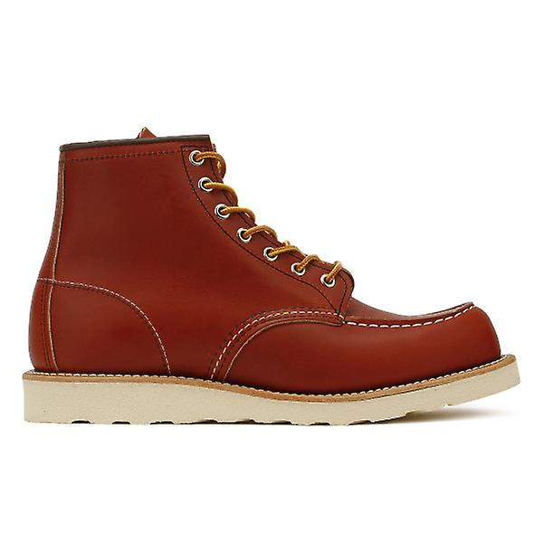 rouge Wing chaussures Mens or Russet Portage 6-Inch Moc Toe bottes