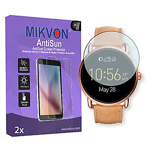 Fossil Q Wander Screen Protector - Mikvon AntiSun (Retail Package with accessories)