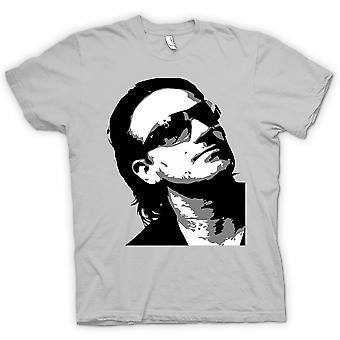 Kids T-shirt - Bono U2 - BW