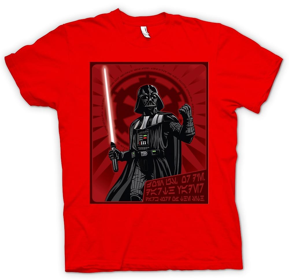 Mens T-shirt - Darth Vader - Star Wars - Japans