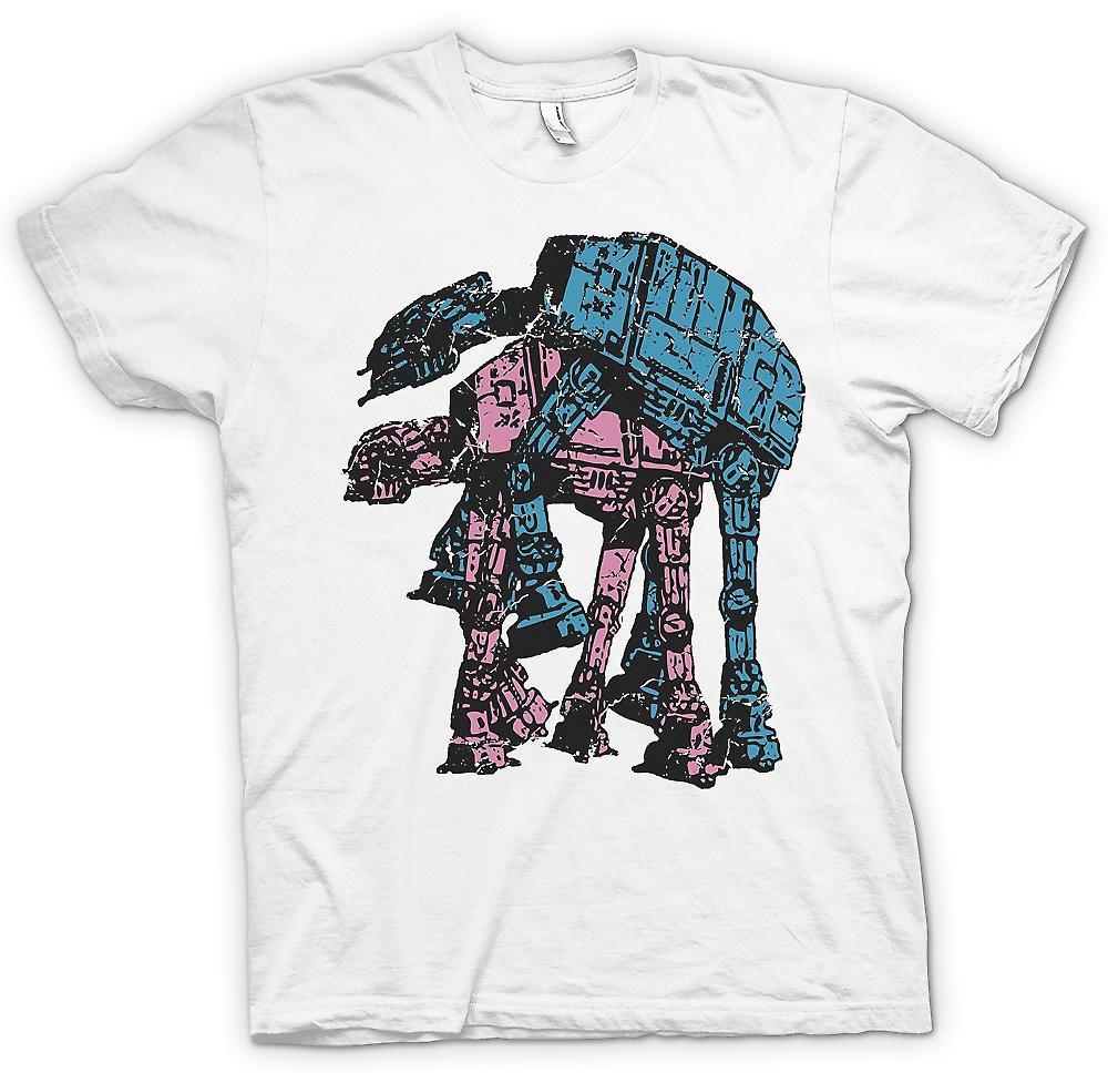 T-shirt-ATATs andando a esso - Funny