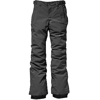 ONeill Dark Grey Melee Charm Slim Girls Snowboarding Pants