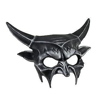 金属半分マスク悪魔