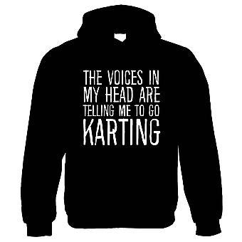 Voices In My Head Go Karting, Hoodie