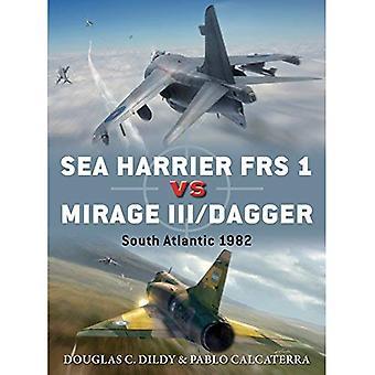Sea Harrier FRS 1 vs Mirage III/Dagger: Atlantique Sud 1982 (Duel)