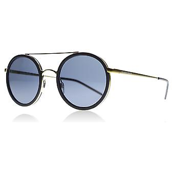 Emporio Armani EA2041 300287 Matte Gold / Grey EA2041 Round Sunglasses Lens Category 3 Size 50mm