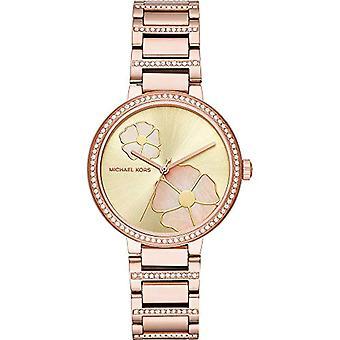 Michael Kors dames Quartz analoge horloge met stalen band MK3836