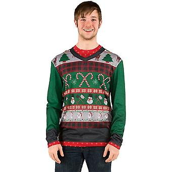 Ugly Christmas Candies Sweater Adult