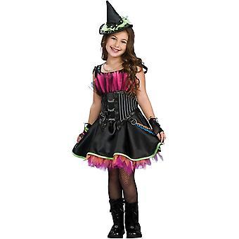 Rocker Witch Child Costume