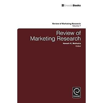 Review of Marketing Research by Malhotra & Naresh K.