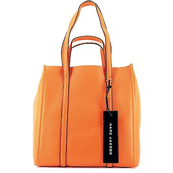 Marc Jacobs Orange Leather Tote