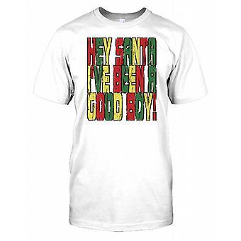 Hej varit Santa Ive en bra pojke - rolig jul barn T Shirt