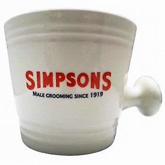 Simpsons crema tazza da barba (grande)