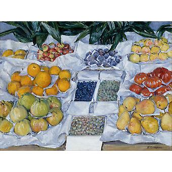 Still life,Gustave Caillebotte,50x38cm