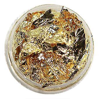 1 st burk guld folie flakes