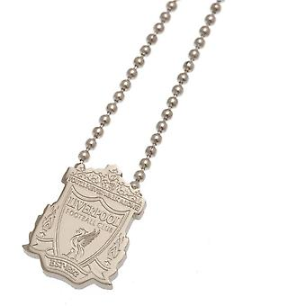 Liverpool FC Stainless Steel Pendant And Chain