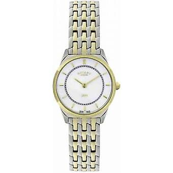 Rotary Womens Two-Tone Ultra-Slim Bracelet LB08001/02 Watch