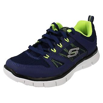 Boys Skechers Trainers Style - Flex Advantage