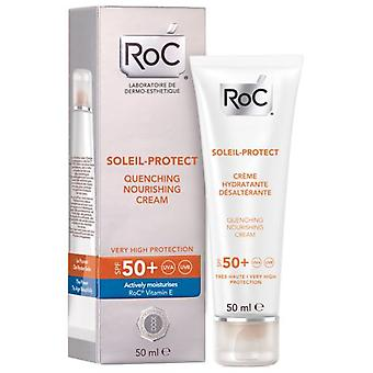 Roc Soleil-Protect Quenching Nourishing Cream SPF50+ 50 ml
