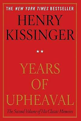 Years of Upheaval by Henry Kissinger - 9781451636451 Book