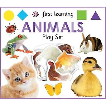 First Learning Animals Play Set by Roger Priddy - 9781783417551 Book