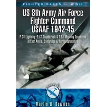 Fighter Bases of WW2 US 8th Army Air Force Fighter Command USAAF 1942