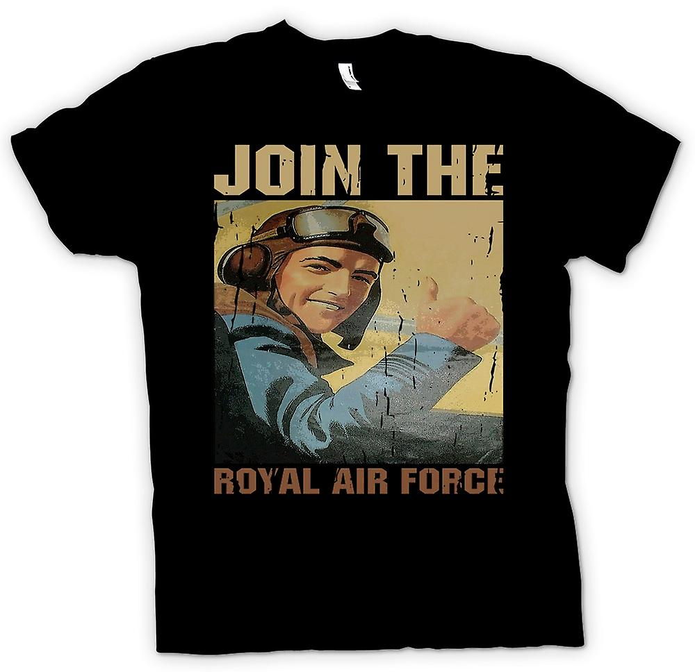 Kids T-shirt - Join The Royal Air Force - RAF WW2