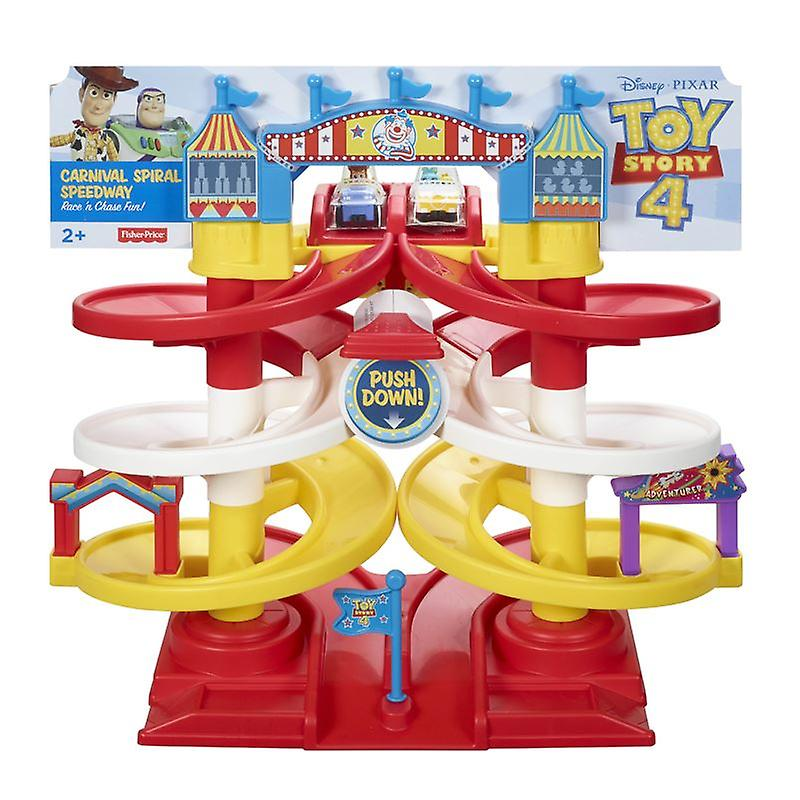 Fisher-price Toy Story 4 Spiral Speedway