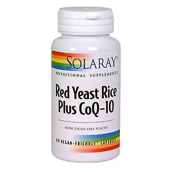 Solaray Red Yeast Rice + Co-Q10 Capsules 60 (1374)