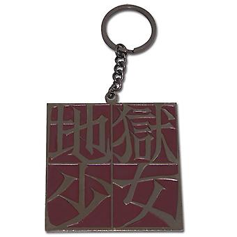 Key Chain - Hell Girl - New Metal Kanji Anime Gifts Toys Licensed ge4521