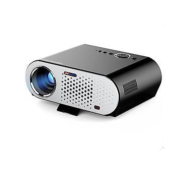 Eu plug portable video projector wireless projector multimedia hd1080p cinema theater projector with hdmi/vga/av/usb/rj45-lan