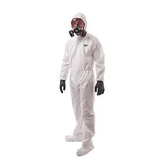 Portwest biztex microporous coverall with boot covers type 6 / 5 st41 box of 50