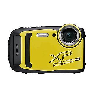 Fujifilm finepix xp140 digital camera waterproof 25m cmos 16mp 5x optical zoom stabiliser mechanical lithium battery wi-fi bluetooth yellow