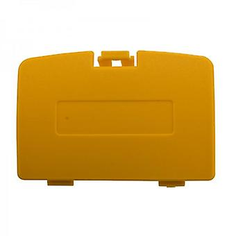 Replacement battery cover door for nintendo game boy color - yellow