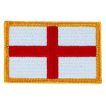 Patch Patch Brode Flag England English Thermocollant Insigne Blason