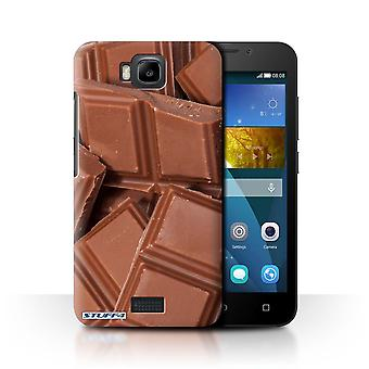 STUFF4 Case/Cover for Huawei Honor Bee/Y5c/Chocolate/Food
