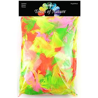 Big Value Pack Feathers Neon Mix 70 Grams Bvp 39918