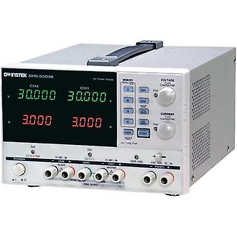 Bench PSU (adjustable voltage) GW Instek GPD-3303S 0 - 30 Vdc 1 - 3 A 195 W USB No. of outputs 3 x