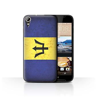 STUFF4 Case/Cover for HTC Desire 830/Barbados/Barbadian/Americas Flag
