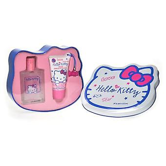 Hello Kitty Case 50 Ml + Gel + Lata (Enfant , Parfums)