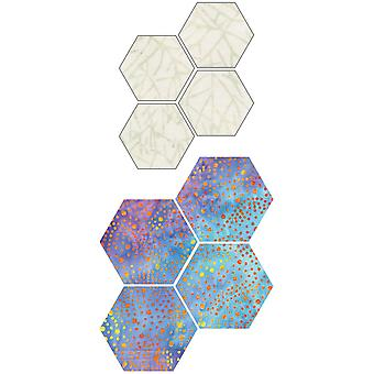 GO! Fabric Cutting Dies-Paper Piecing Hexagon 1