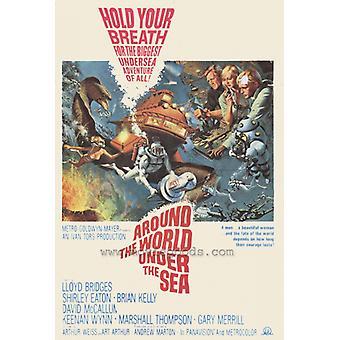 Around the World Under the Sea Movie Poster Print (27 x 40)