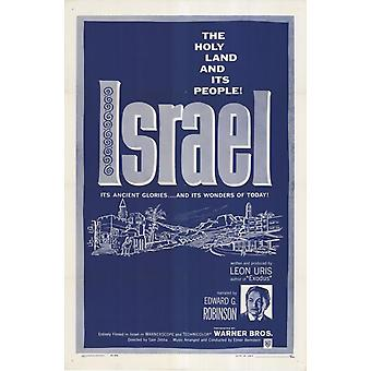 Israel Movie Poster Print (27 x 40)