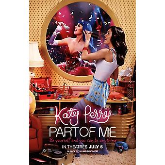 Katy Perry Part of Me 3D Movie Poster (11 x 17)